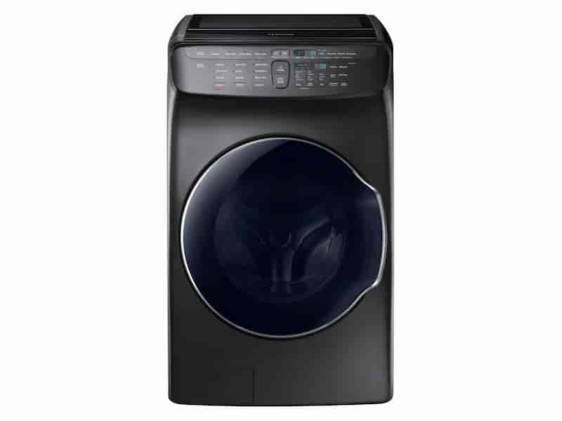 5.5 cu. ft. FlexWash™ Washer in Black Stainless Steel