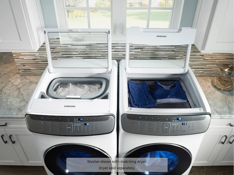 Model: WV60M9900AW | WV9900 6.0 Total cu. ft. FlexWash™ Washer