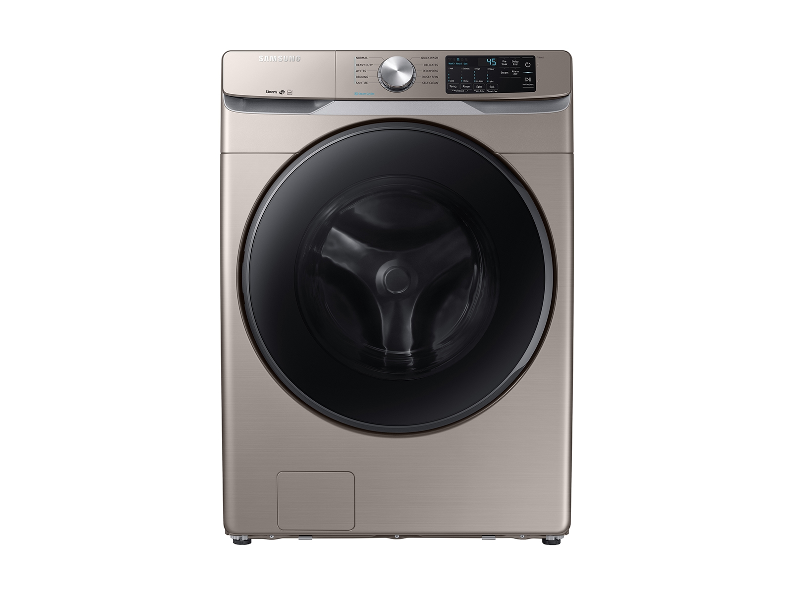 Front Load Washer with Steam (WF45R6100) | Owner Information