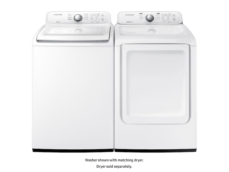 4 5 Cu Ft Top Load Washer With Self Clean In White