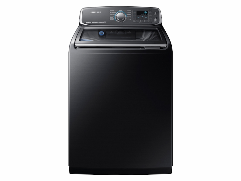 5 2 Cu Ft Activewash Top Load Washer In Black Stainless Steel Washer Wa52m7750av A4 Samsung Us