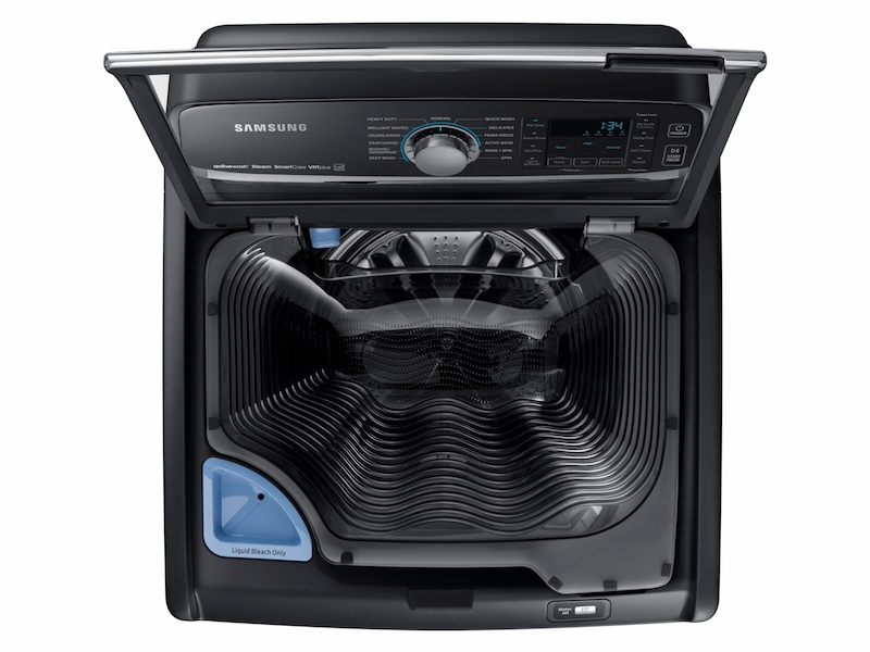 5 2 Cu Ft Activewash Top Load Washer In Black Stainless