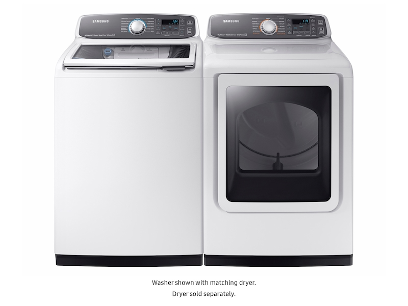 wa7750 5.2 cu. ft. top load washer washers - wa52m7750aw/a4 | samsung us