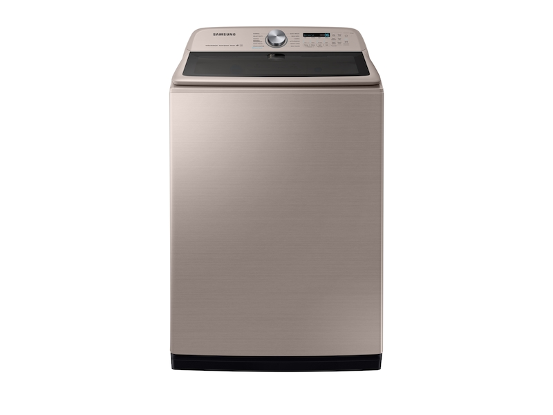 Wa7600 5 4 Cu Ft Top Load Washer Wa54r7600ac Us Samsung Us