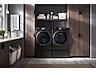 Thumbnail image of WF6300 4.5 cu. ft. Smart Front Load Washer with Super Speed in Black Stainless Steel