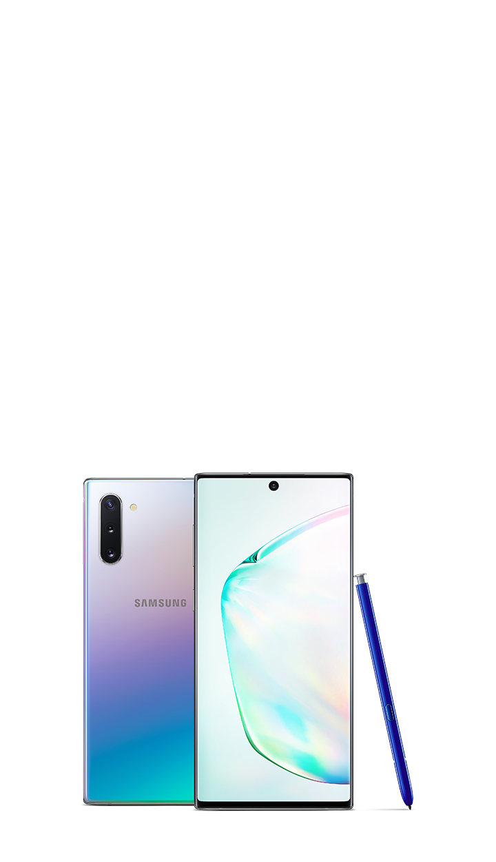 MB Carousel Note10 White