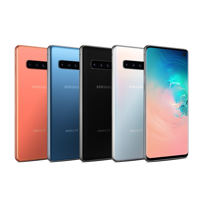 Get a Galaxy S10e starting from $450 with eligible iPhone® trade-in.*