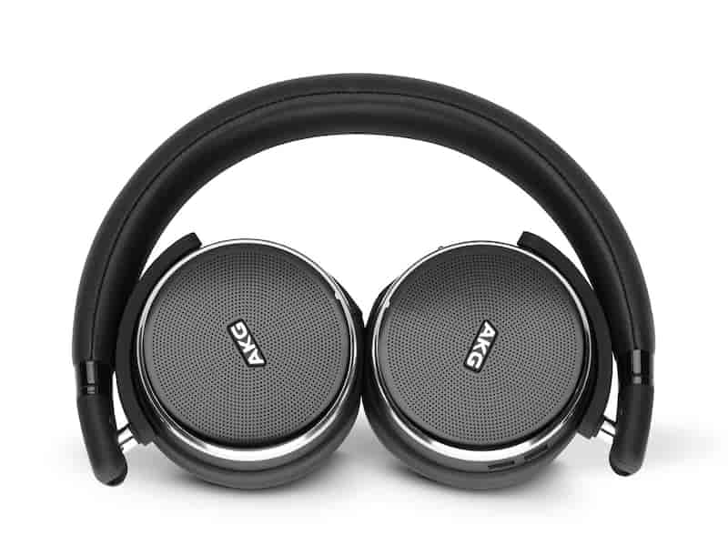 AKG N60 Noise Cancelling Headphones, Black