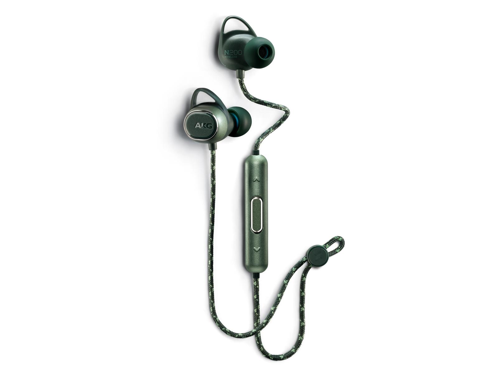 AKG N200 Wireless, Green