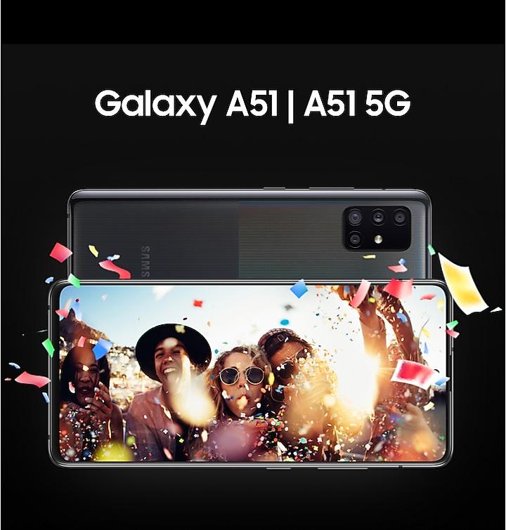 Màn hình của Samsung Galaxy A51 5G