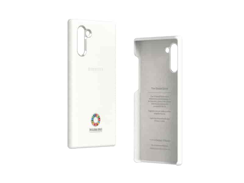 Global Goals Edition Smart Cover for Galaxy Note10