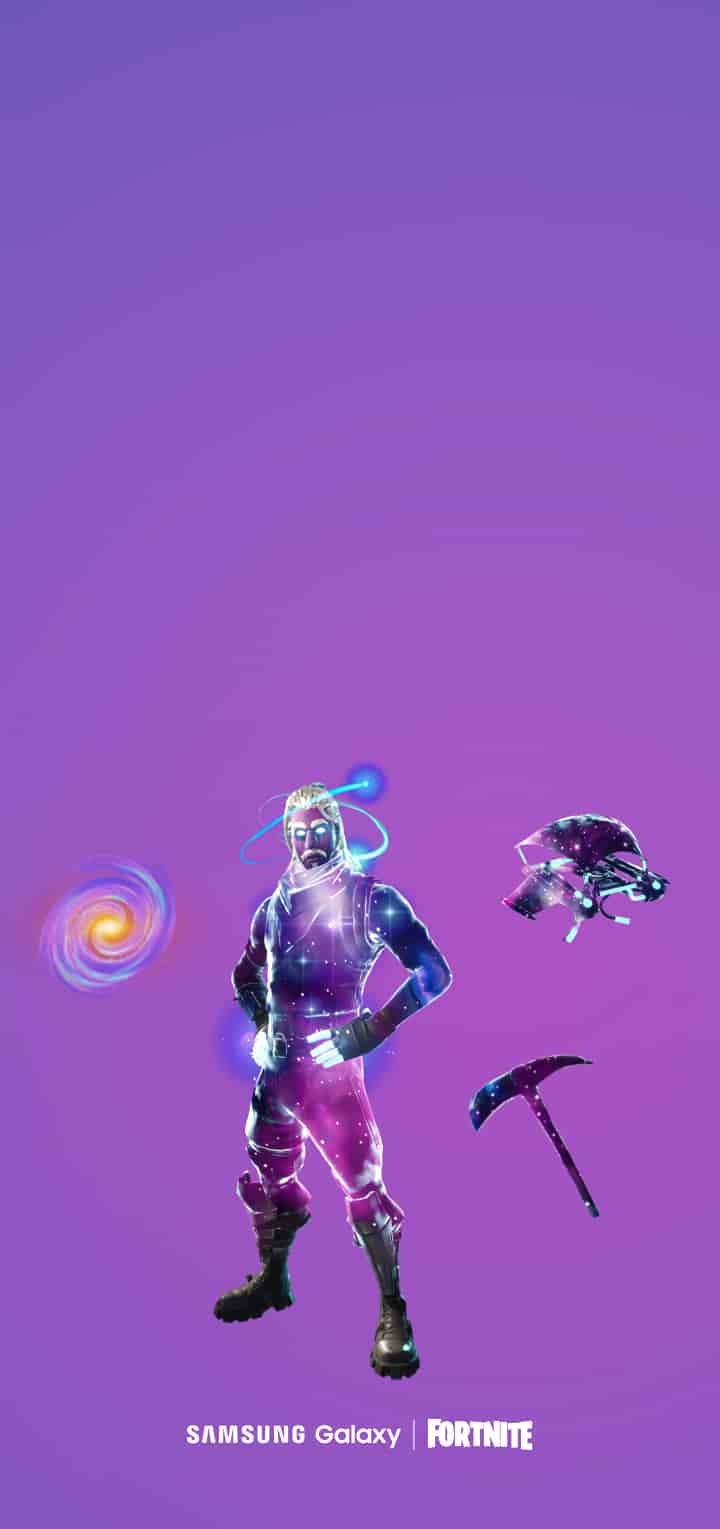 gravity defying speed - how to get the fortnite galaxy skin on s9