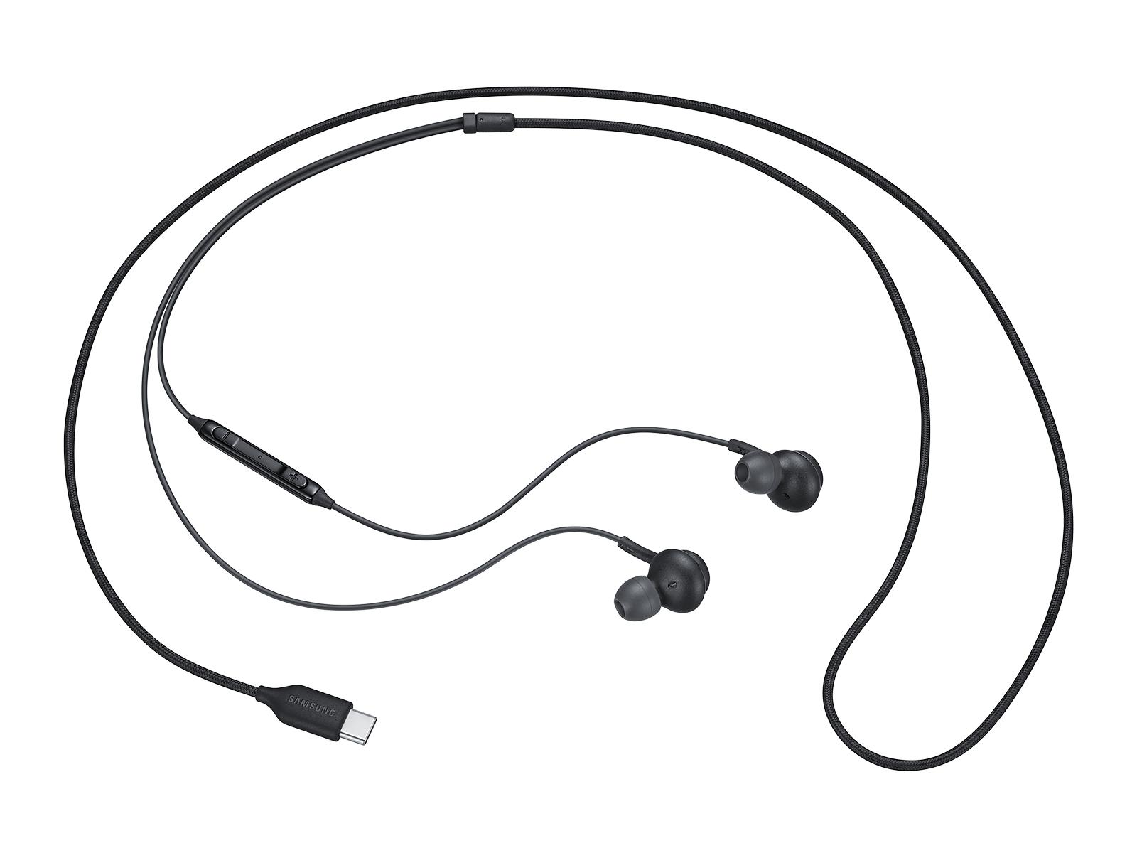 Larger View of Samsung Type-C Headphones, Black