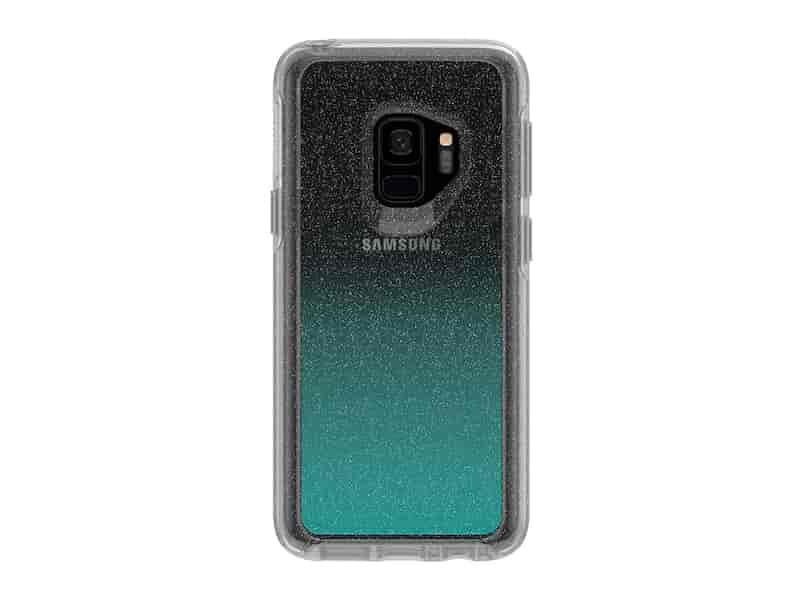 OtterBox Symmetry Clear for Galaxy S9, Aloha Ombre