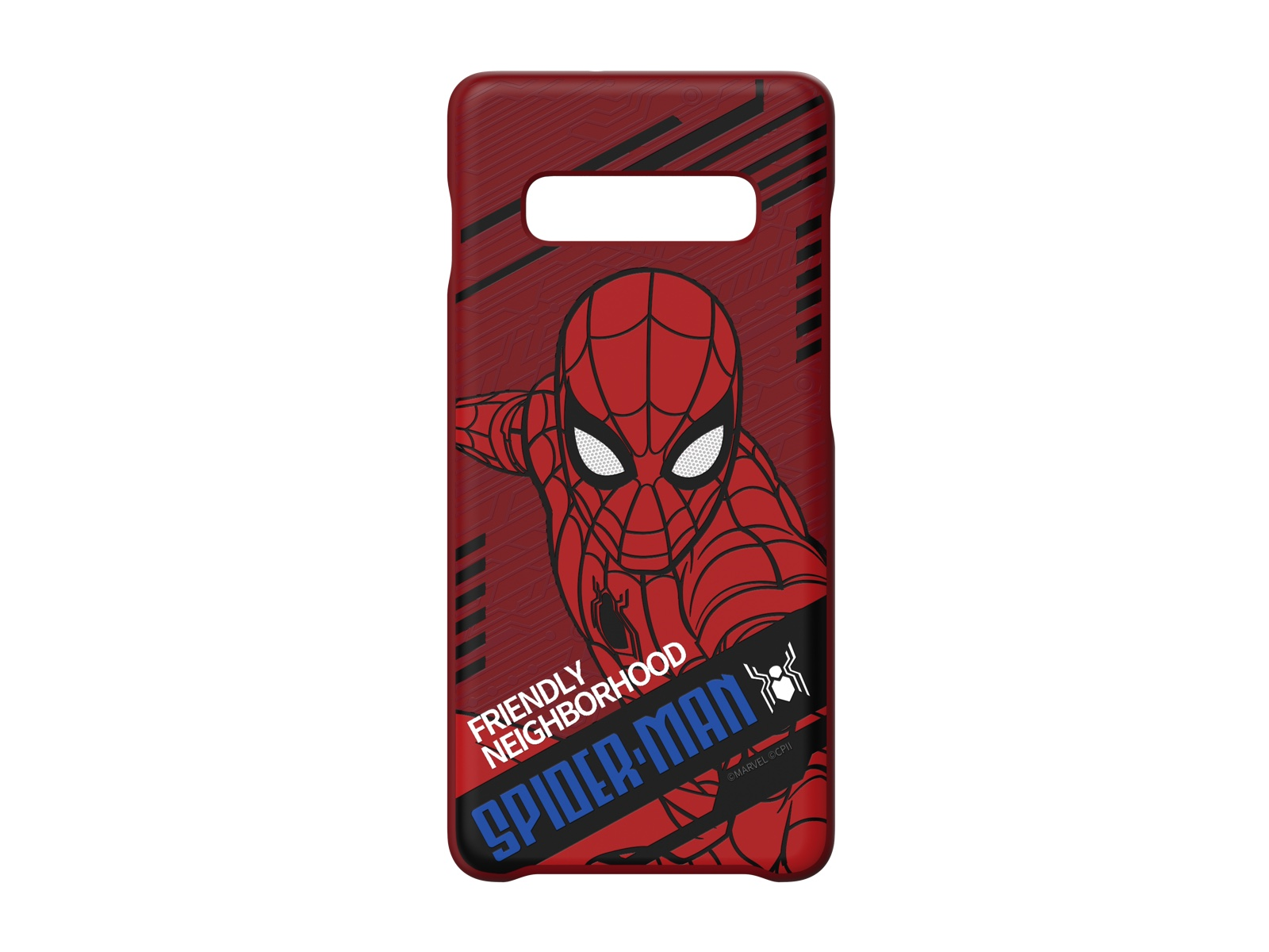Galaxy Friends Spider-Man Far From Home Smart Cover for Galaxy S10+