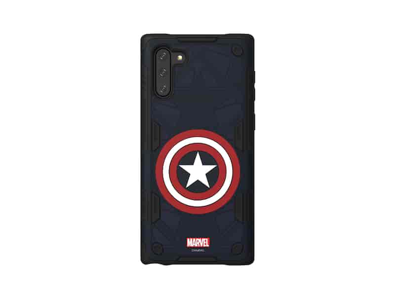 Galaxy Friends Captain America Rugged Protective Smart Cover for Note10