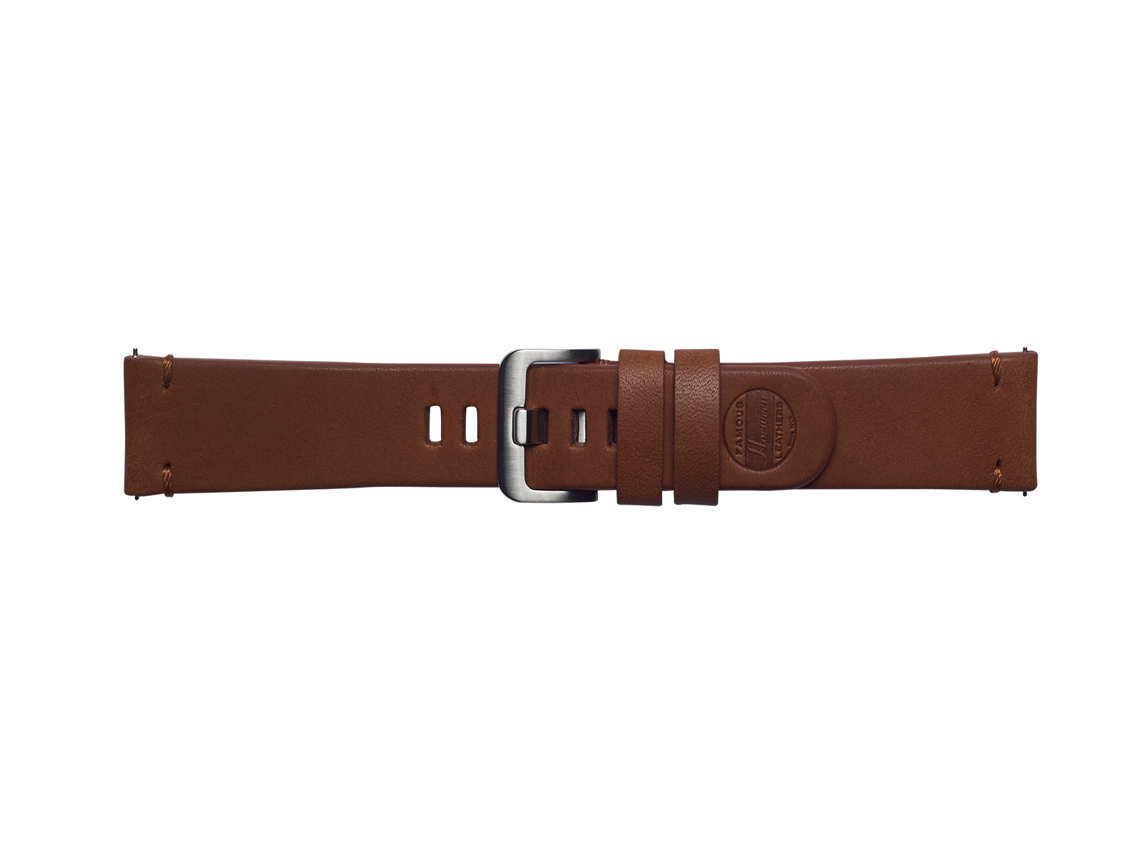 Essex Leather Band for Galaxy Watch 46mm & Gear S3, Brown