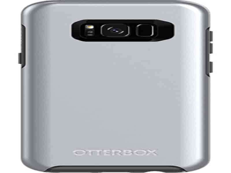 OtterBox Symmetry for Galaxy S8+, Titanium Silver
