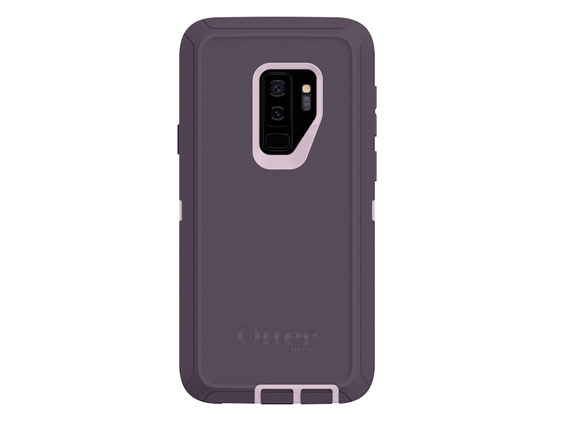 best website a19ae ee872 OtterBox Defender for Galaxy S9+, Purple Nebula