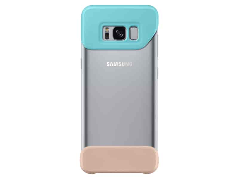 Galaxy S8 Two Piece Cover, Mint/Brown