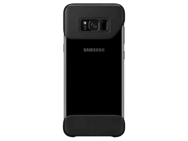 Galaxy S8+ Two Piece Cover, Black