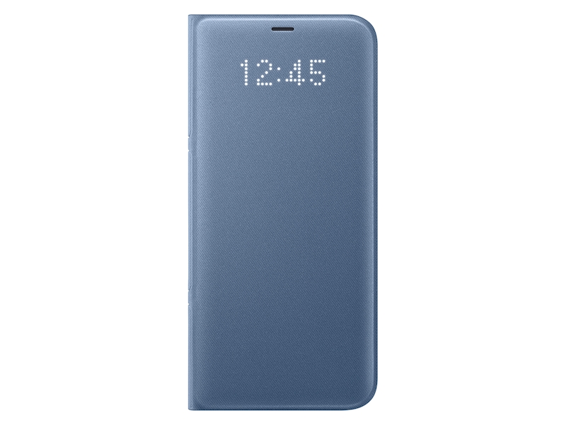 Galaxy S8+ LED Wallet Cover, Blue