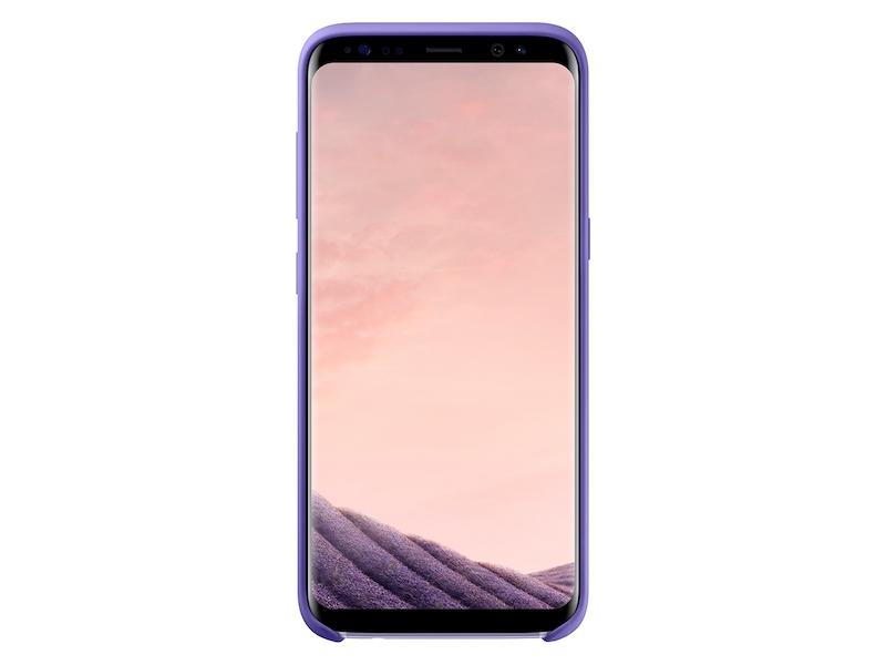 Galaxy S8 Silicone Cover, Purple
