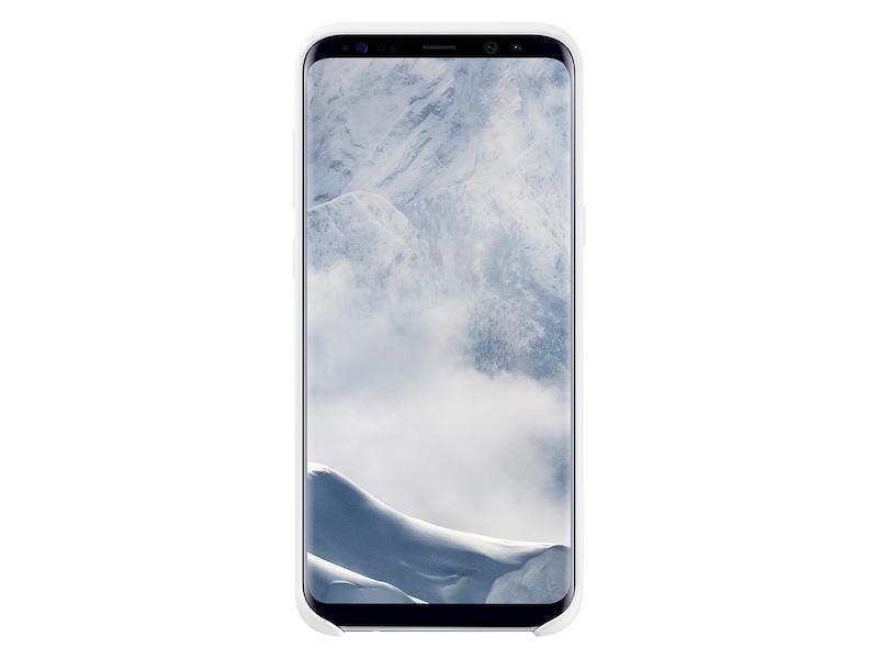 Galaxy S8+ Silicone Cover, White