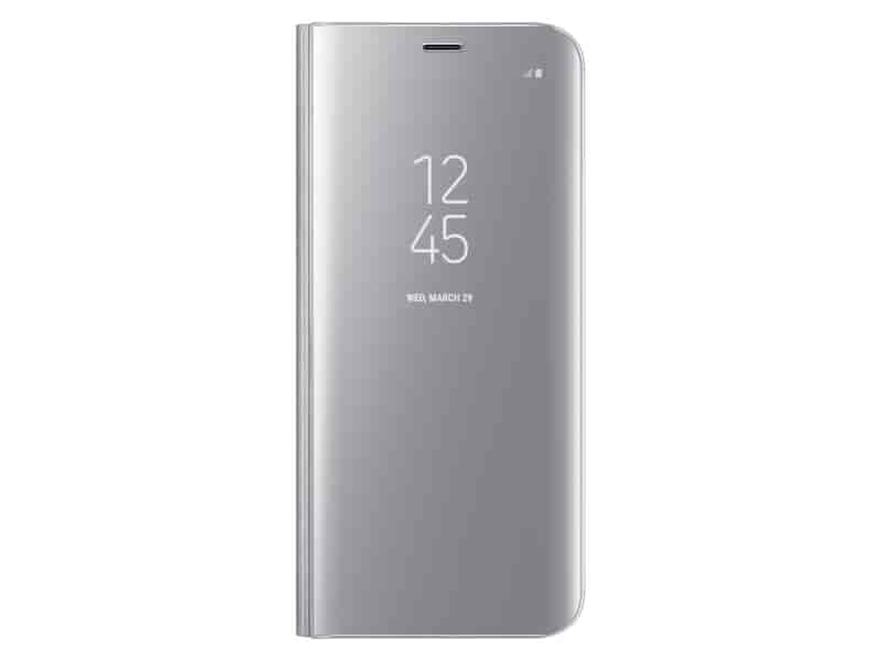 Galaxy S8 S-View Flip Cover, Silver