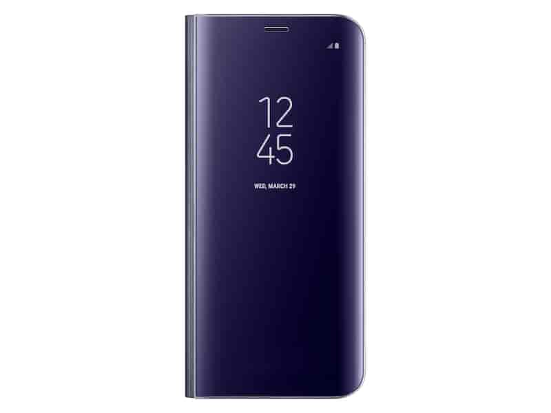 Galaxy S8 S-View Flip Cover, Orchid Gray