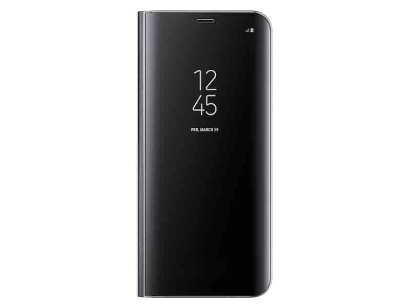 Galaxy S8+ S-View Flip Cover, Black