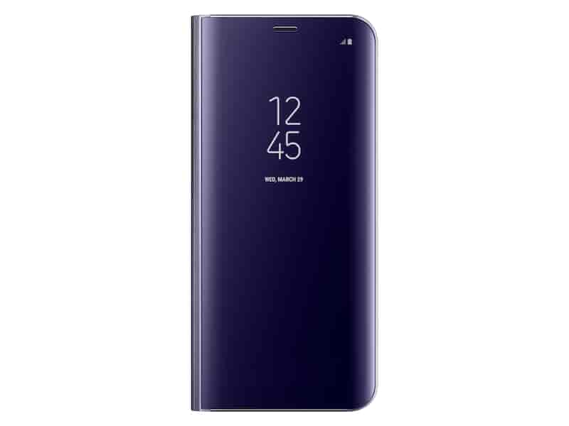 Galaxy S8+ S-View Flip Cover, Orchid Gray