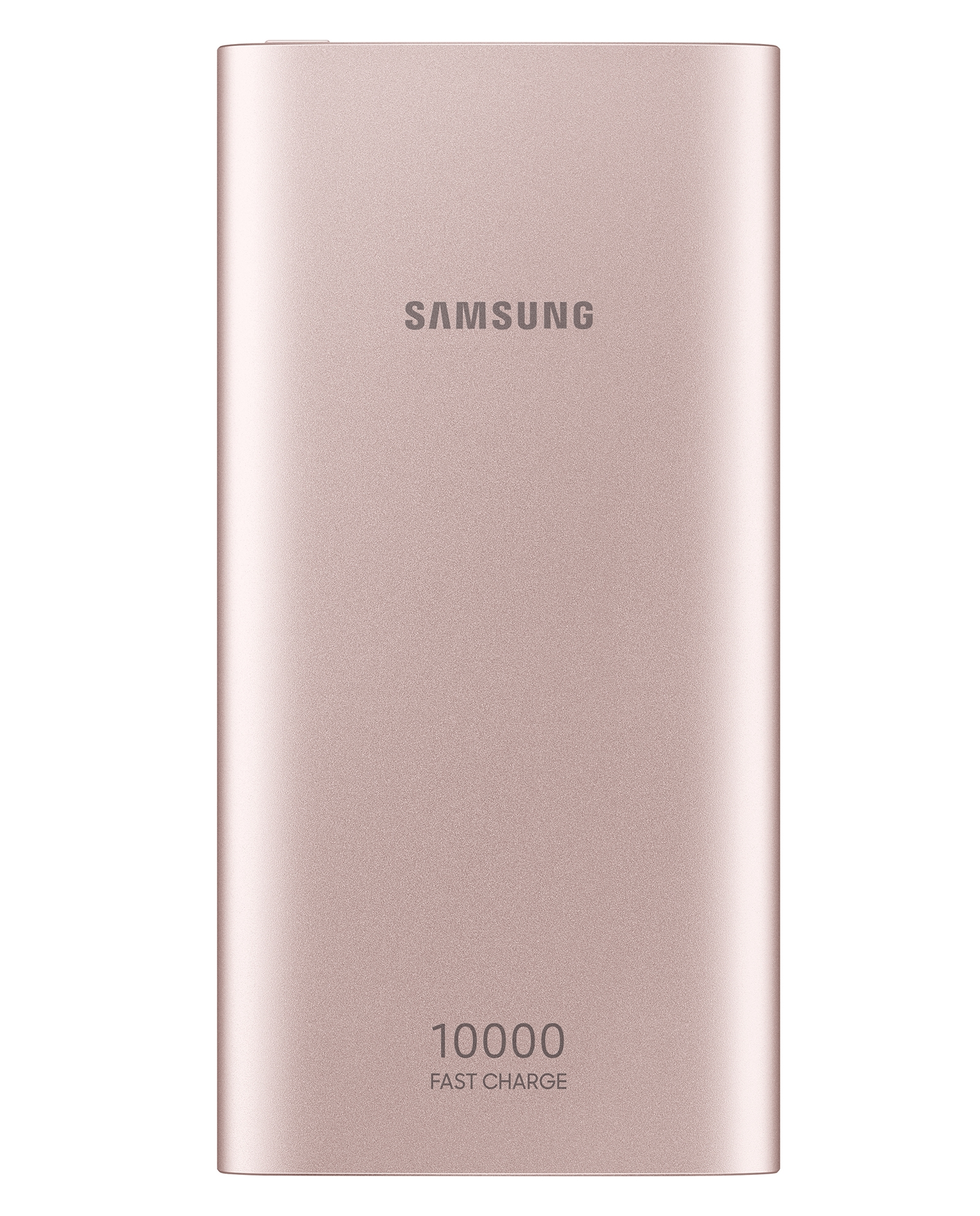 10,000 mAh Portable Battery with USB-C Cable, Pink