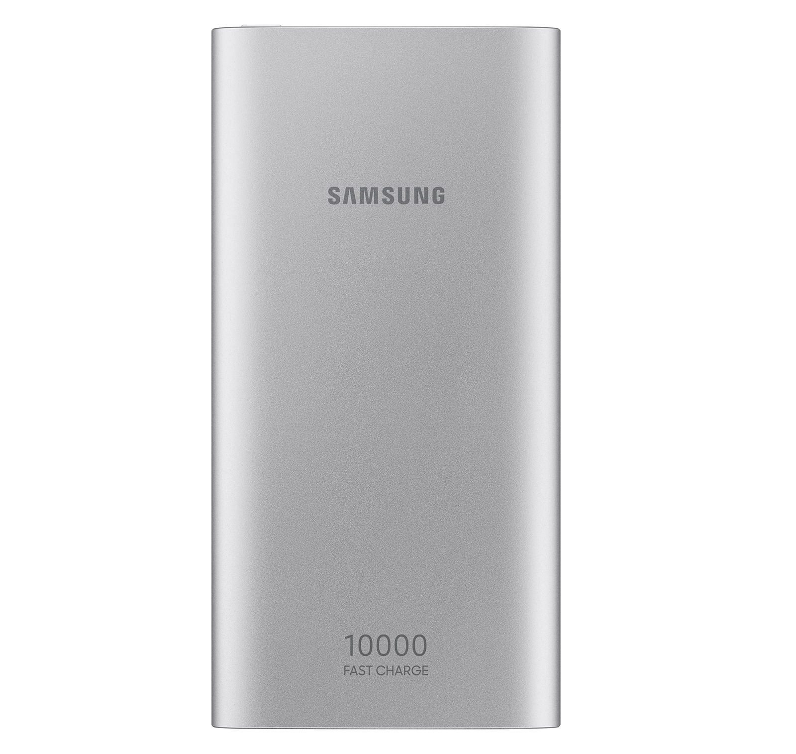 Samsung 10,000 mAh Portable Battery with USB-C Cable, Silver
