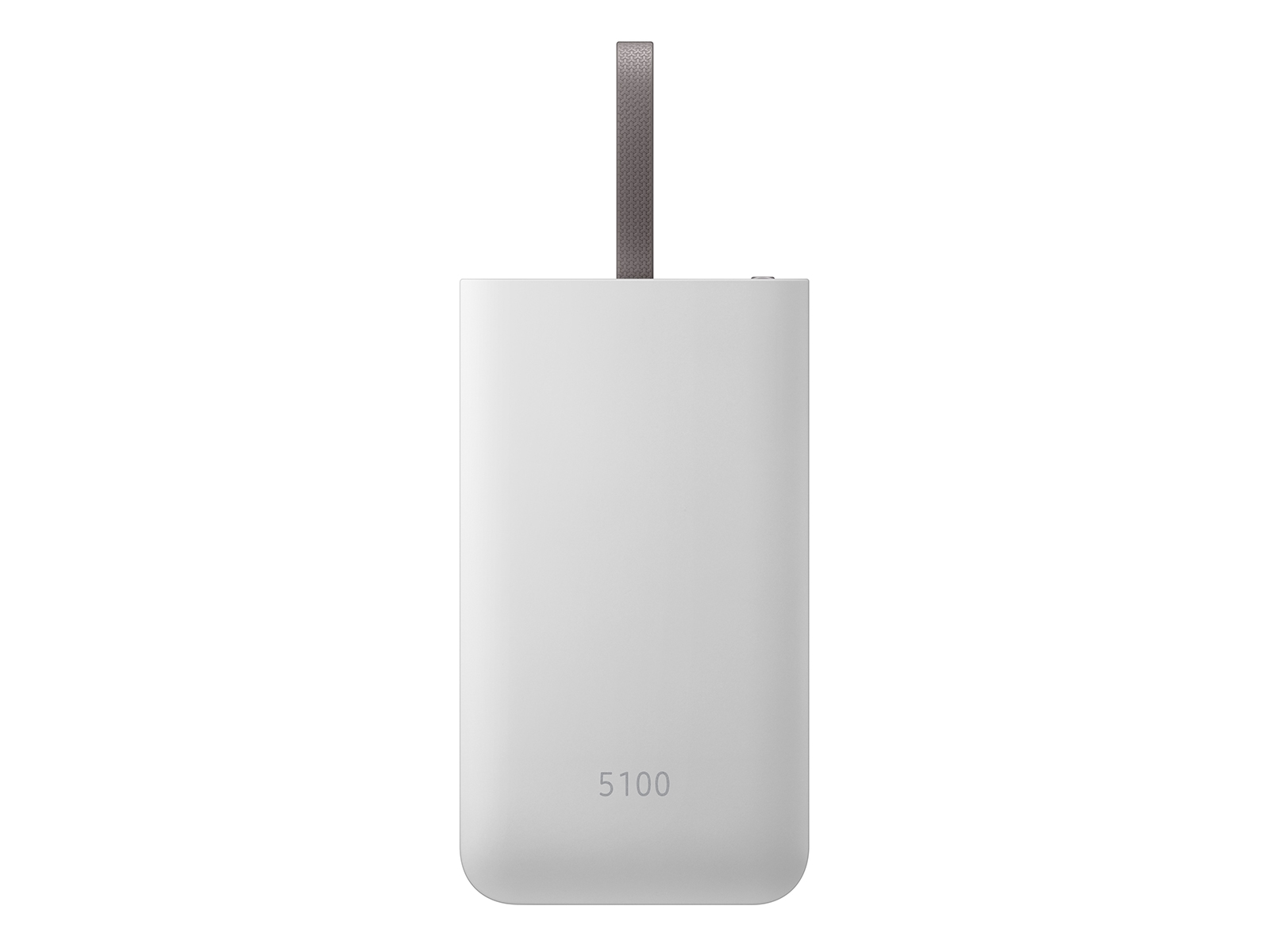 5100 mAH Fast Charge Portable Battery Pack, Silver