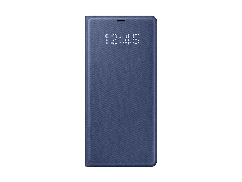Galaxy Note8 LED Wallet Cover, Blue