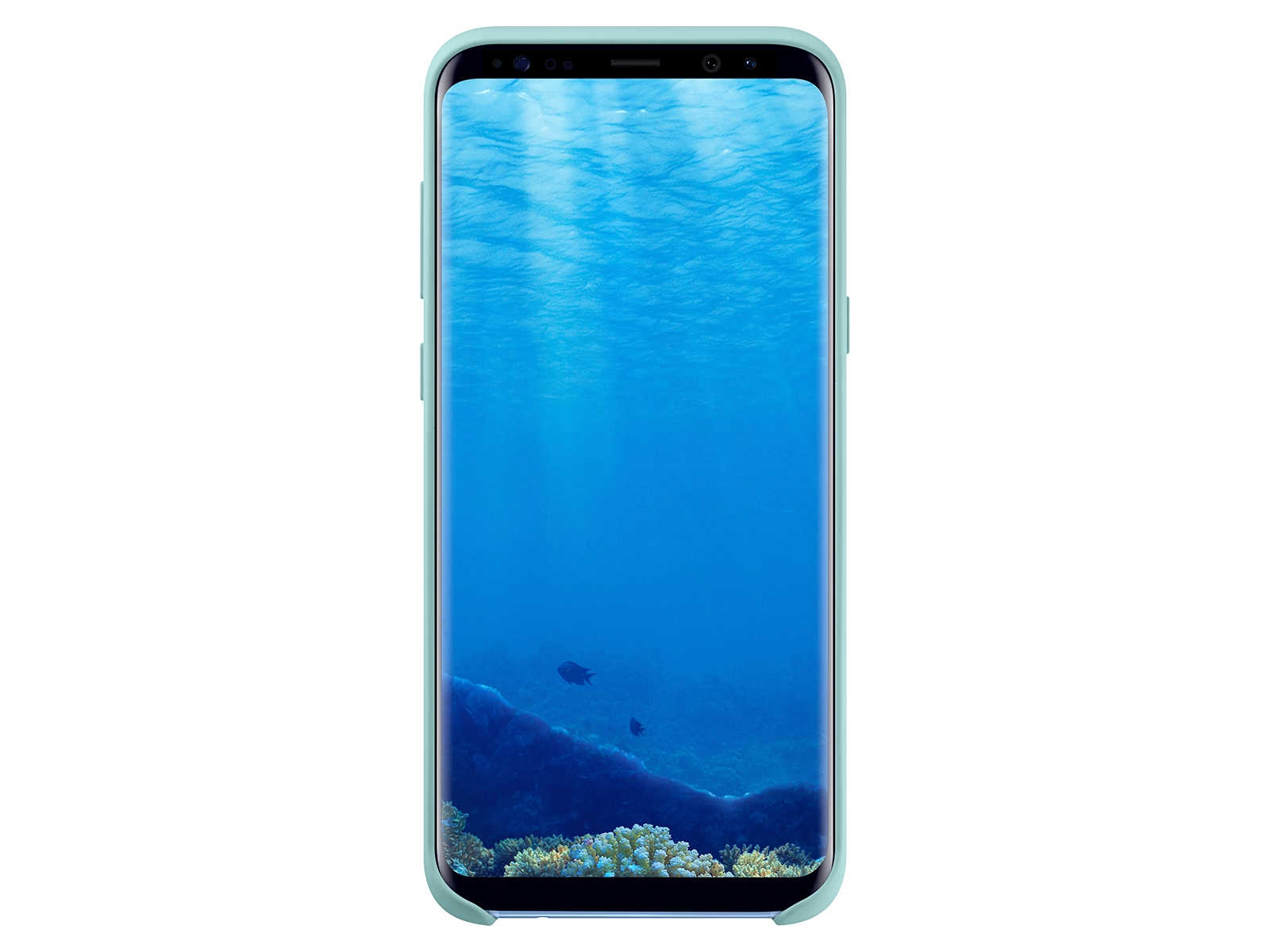 Galaxy S8+ Silicone Cover, Blue