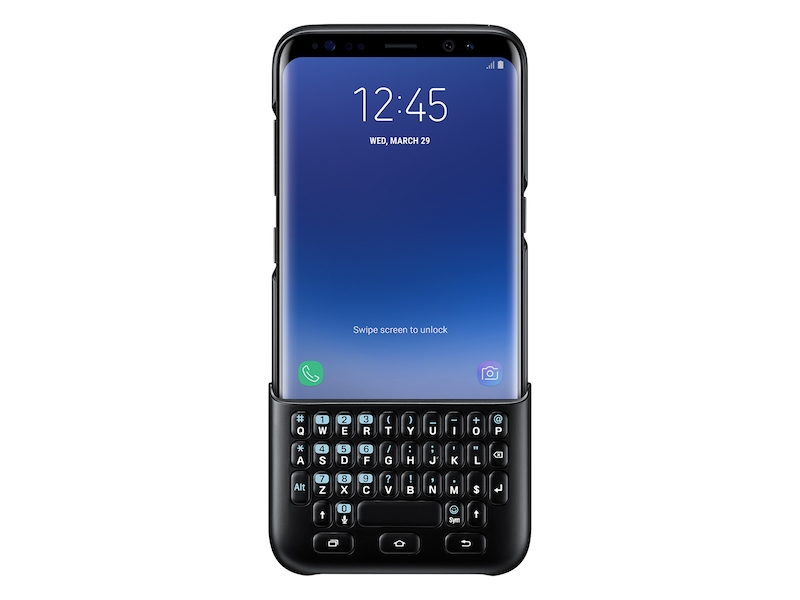 competitive price fc870 80b9a Galaxy S8 Keyboard Cover, Black