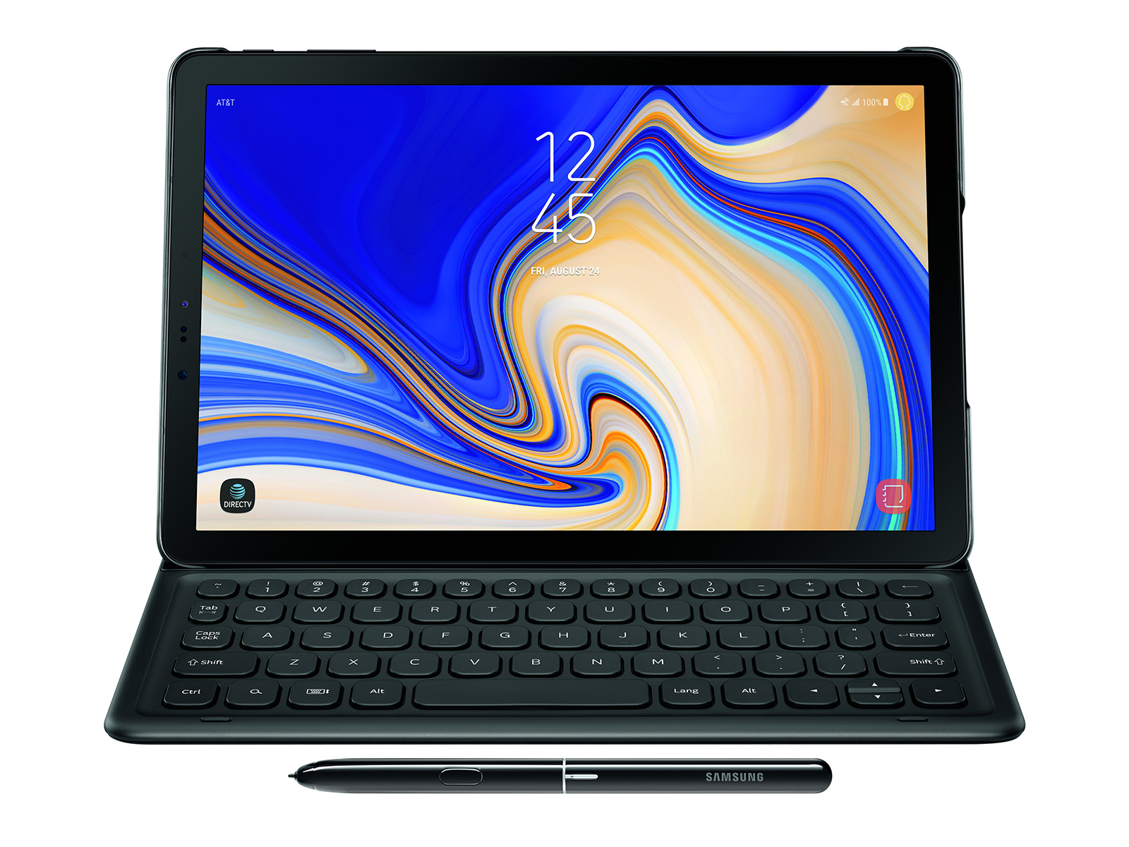 wholesale dealer ba510 9393c Galaxy Tab S4 Book Cover Keyboard Mobile Accessories - EJ-FT830UBEGUJ |  Samsung US