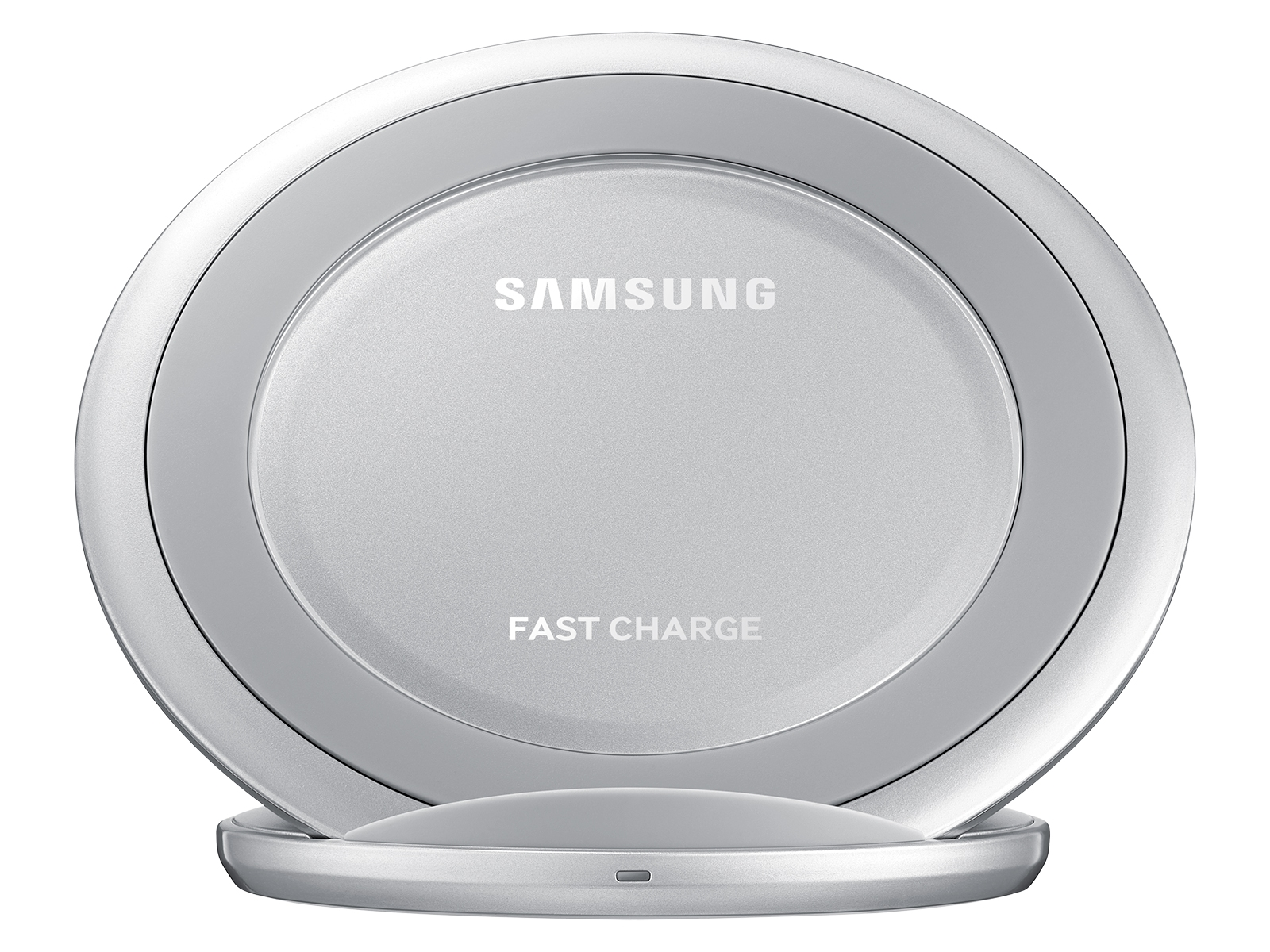 Fast Charge Wireless Charging Stand, Silver