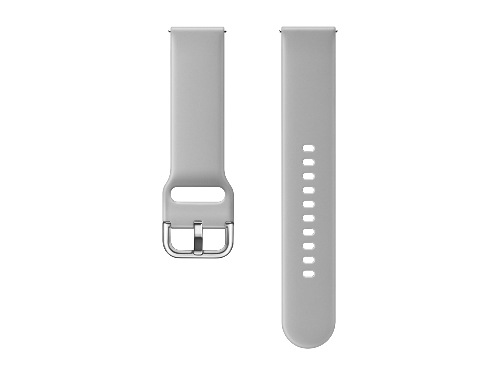 Fluoroelastomer Band for Galaxy Watch Active, Galaxy Watch 42mm, Gray