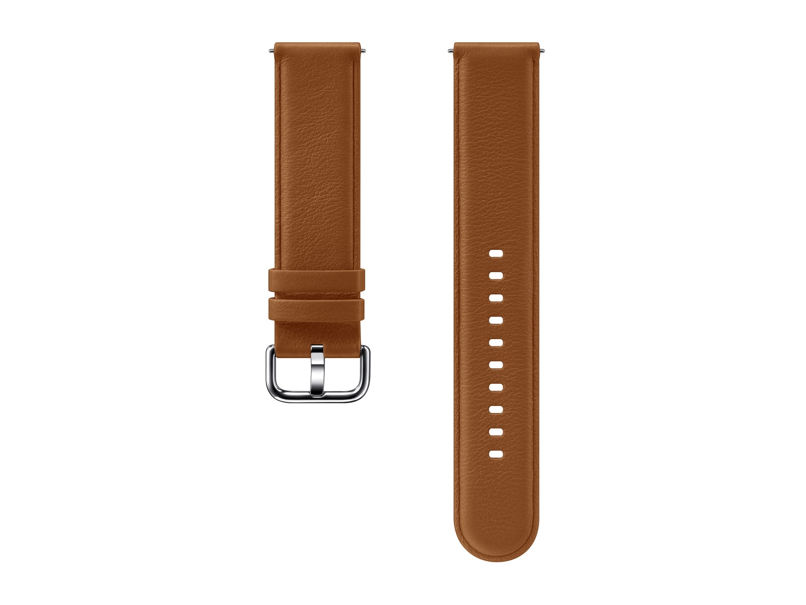 Leather Band for Galaxy Watch Active2, Brown