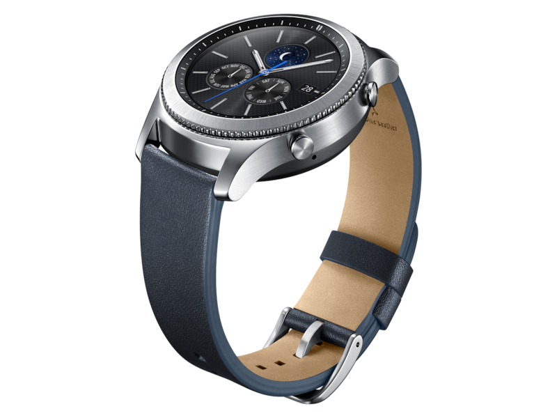 Gear S3 Classic Leather Band – Navy