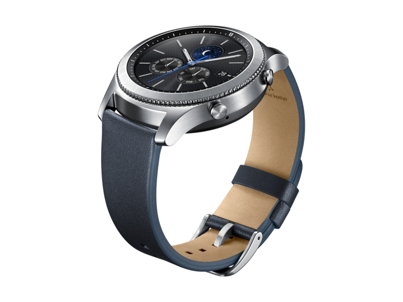 847dae84d26 Gear S3 Classic Leather Band – Navy Mobile Accessories - ET-YSL76MNEGUS