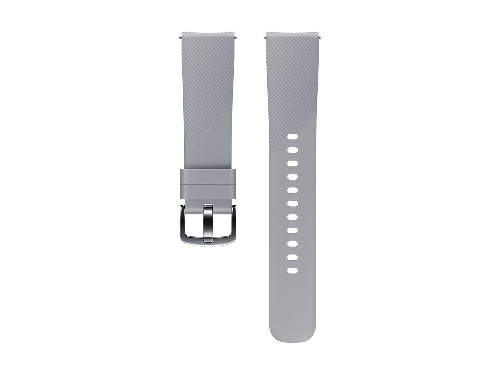 Silicone Band for Galaxy Watch 42mm & Gear Sport, Gray