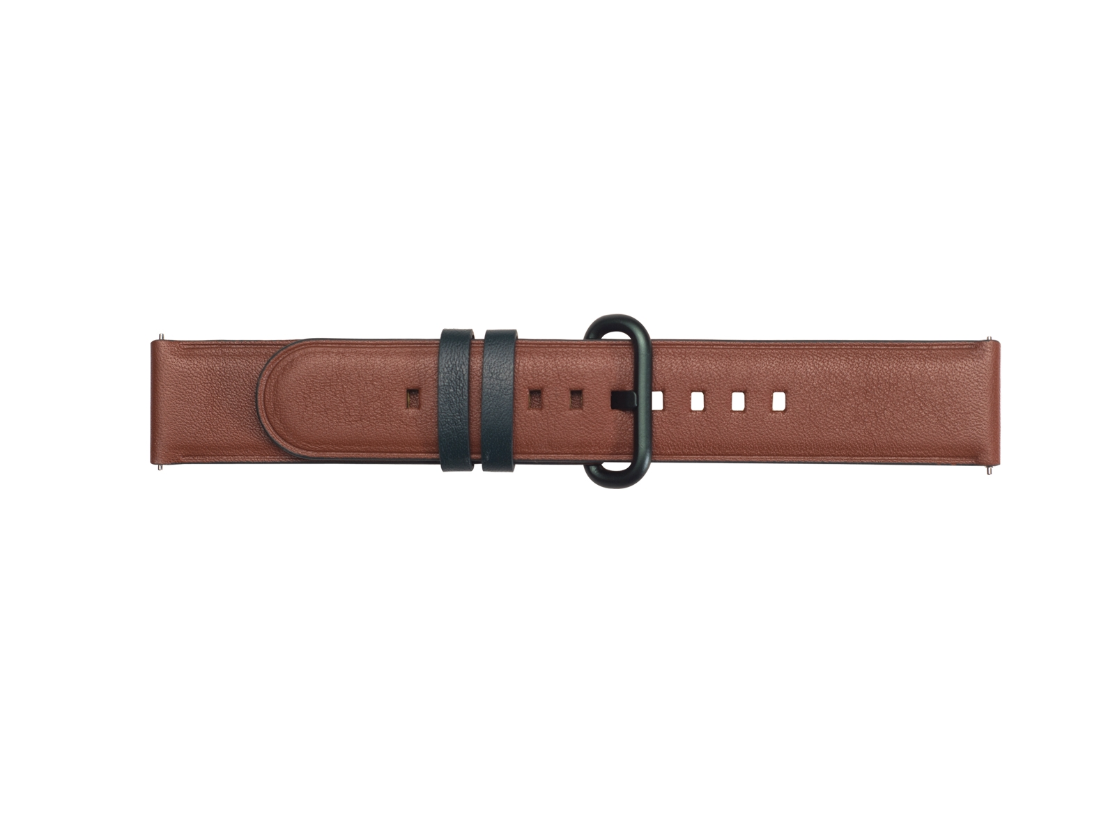 Braloba Active Leather Dress Band for Galaxy Watch Active, Galaxy Watch 42mm, Brown  - Green