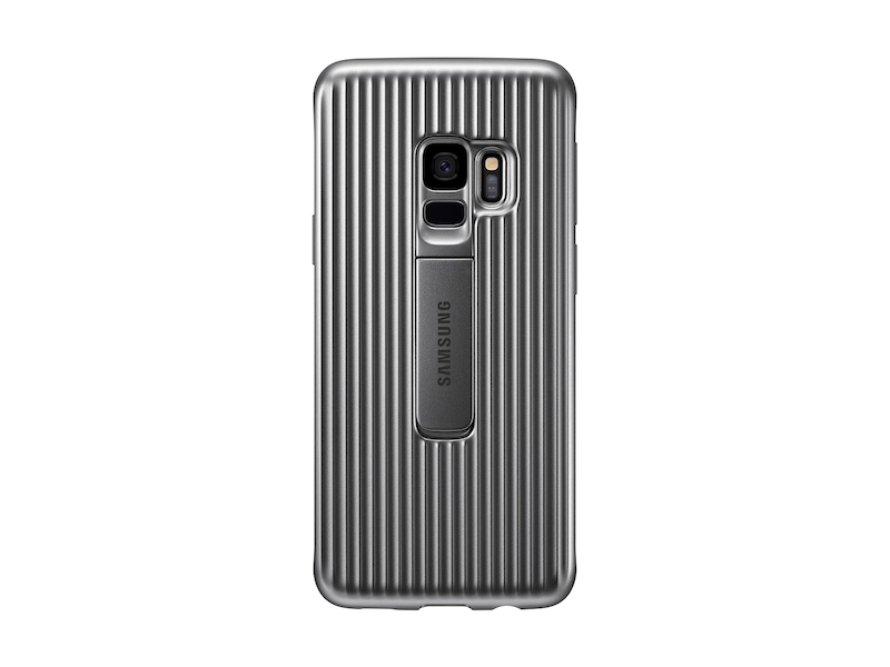 buy popular 76018 303df Galaxy S9 Rugged Protective Cover, Silver
