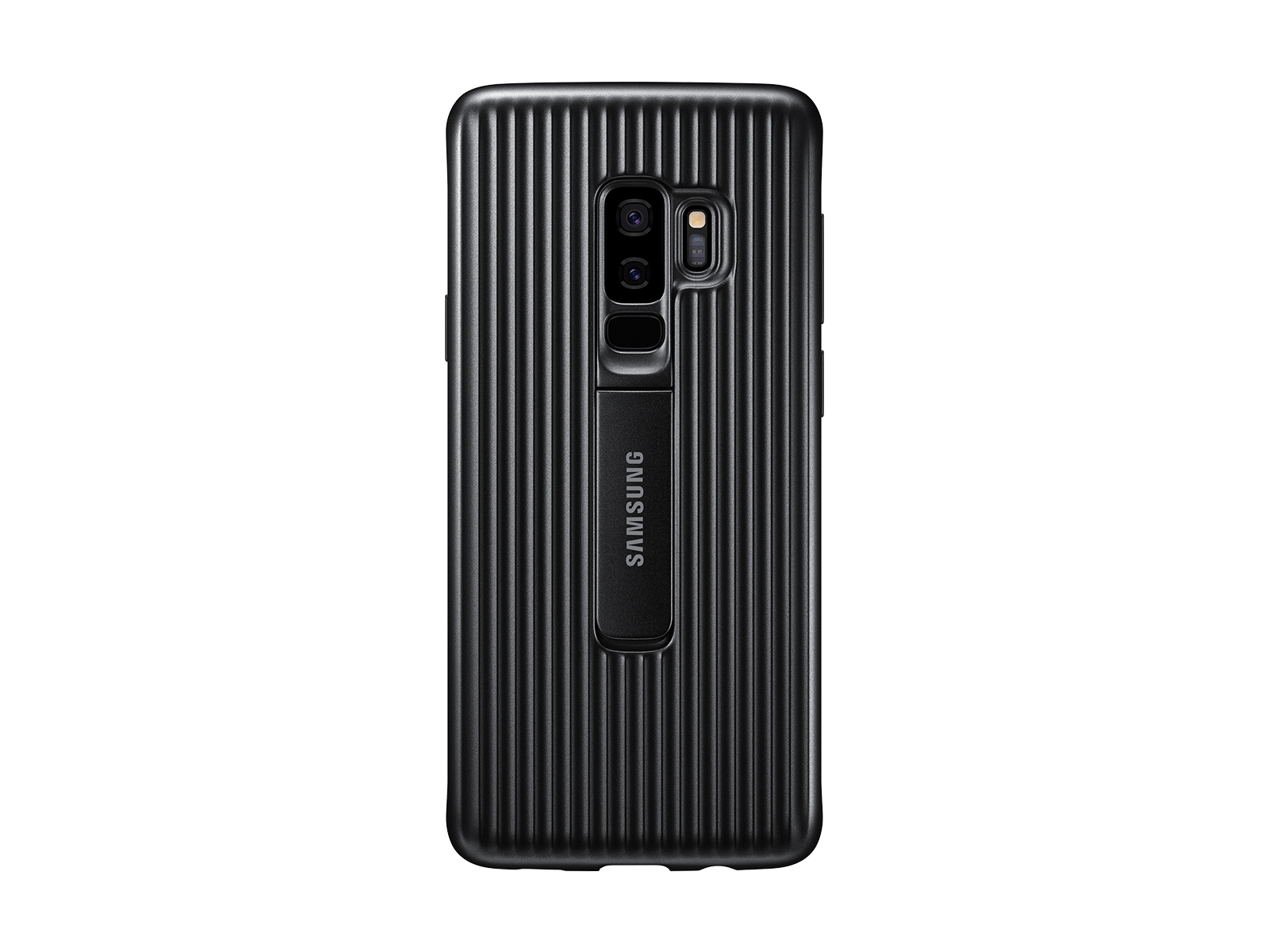 Galaxy S9+ Rugged Protective Cover, Black