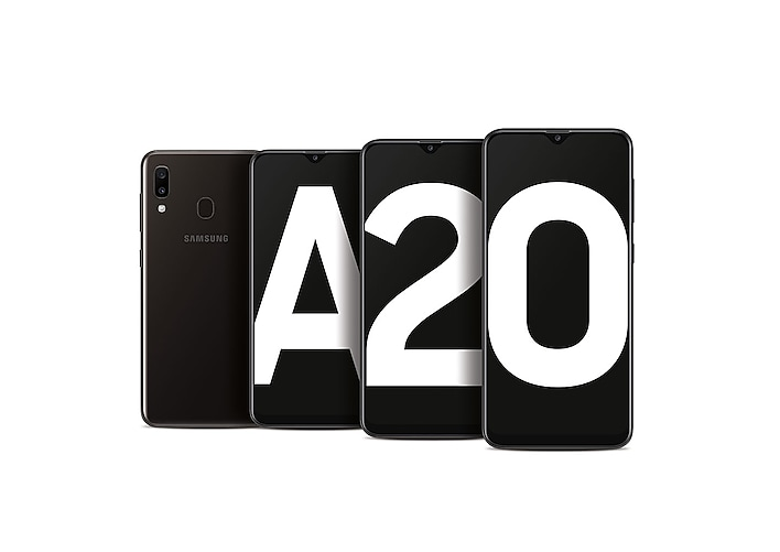 Introducing the Galaxy A20