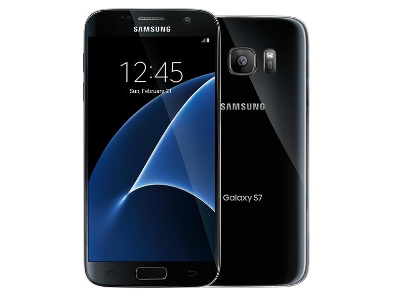 Højmoderne Samsung Galaxy S7, 32GB, (TracFone), Black Onyx Phones - SM JG-35
